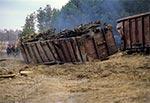 Uchwycony moment przeciągania wagonu przez czołg