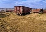 Miejsce gdzie wyciągano wagony, które jechały do remontu